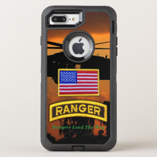 Airborne Rangers Veterans Vets LRRP OtterBox Defender iPhone 7 Plus Case