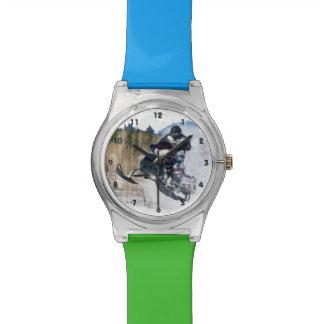 Airborne Snowmobile Watch