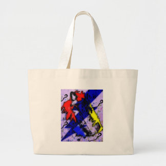 Airbrush Magic Large Tote Bag