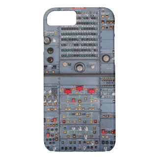 Airbus A321 cockpit Overhead panel covering iPhone 8/7 Case