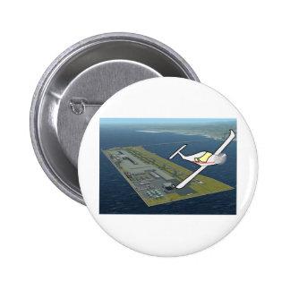 Aircraft 2 Inch Round Button
