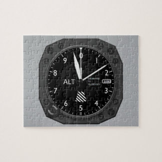 Aircraft Altimeter Jigsaw Puzzle