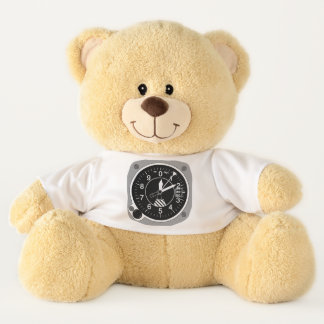 Aircraft Altimeter Teddy Bear