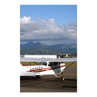 Aircraft, Anchorage, Alaska Personalized Stationery