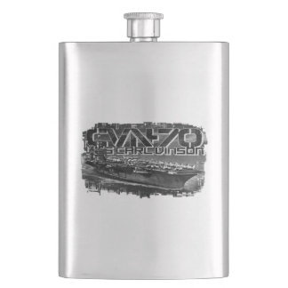 Aircraft carrier Carl Vinson Classic Flask