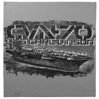Aircraft carrier Carl Vinson Cloth Napkin