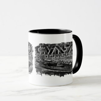 Aircraft carrier Carl Vinson Combo Mug