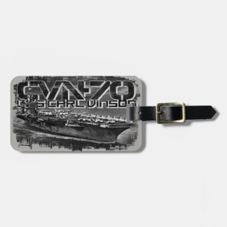 Aircraft carrier Carl Vinson Luggage Tag