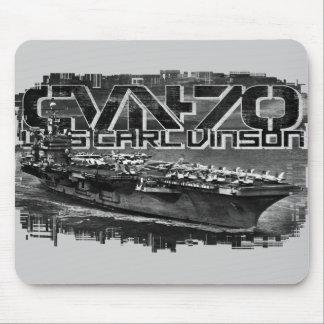 Aircraft carrier Carl Vinson Mousepad