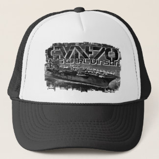 Aircraft carrier Carl Vinson Trucker Hat