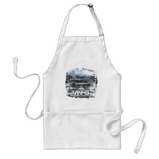 Aircraft carrier Dwight D. Eisenhower Apron