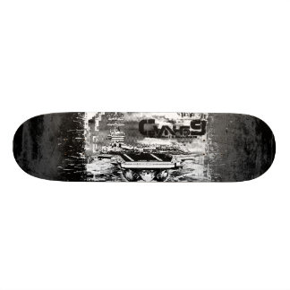 Aircraft carrier Dwight D. Eisenhower Skateboard