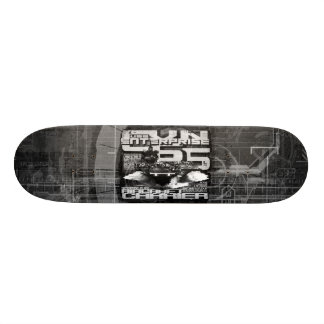 "Aircraft carrier Enterprise 8 1/8"" Skateboard"