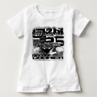 Aircraft carrier Enterprise Baby Romper T-Shirt
