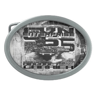 Aircraft carrier Enterprise Pewter Belt Buckle