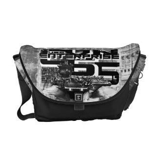 Aircraft carrier Enterprise Rickshaw Messenger Bag