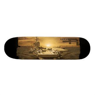 "Aircraft carrier George H.W. Bush 8 1/8"" Skate Board Deck"