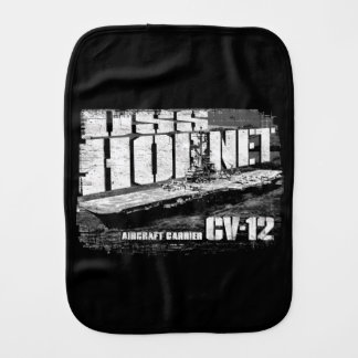Aircraft carrier Hornet Burp Cloth