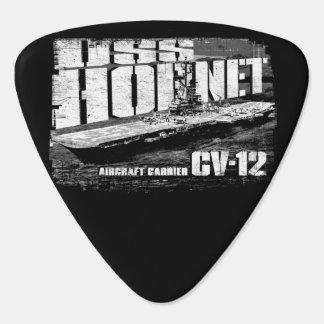 Aircraft carrier Hornet Groverallman Guitar Pick