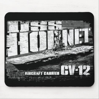 Aircraft carrier Hornet Mousepad
