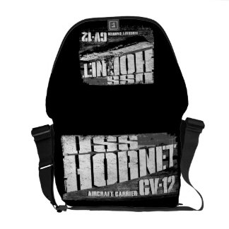 Aircraft carrier Hornet Rickshaw Messenger Bag