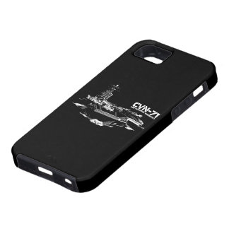 Aircraft carrier Theodore Roosevelt Casemate case Case For The iPhone 5