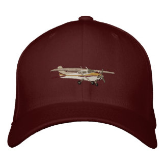 Aircraft Classic Cessna Custom Embroidered Embroidered Hats