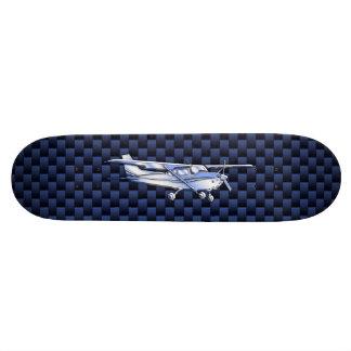 Aircraft Classic Chrome Cessna Flying Carbon Fiber Skateboard