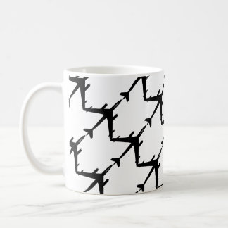 Aircraft flight coffee mug