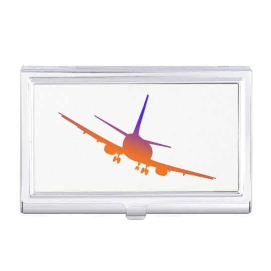 Aircraft Landing Business Card Holder