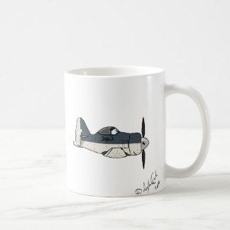 Aircraft Love Caricature Mug