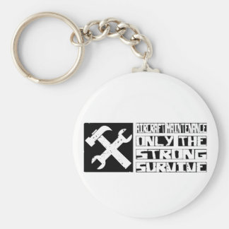 Aircraft Maintenance Survive Keychain
