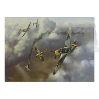 Aircraft - Me 109 Greetings Card