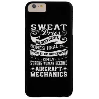 Aircraft Mechanic Woman Barely There iPhone 6 Plus Case