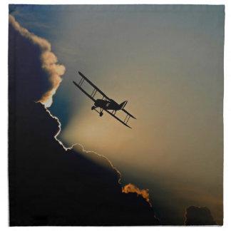 aircraft napkin