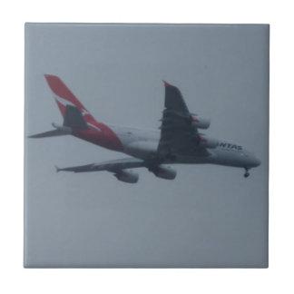 "Aircraft Small (4.25"" x 4.25"") Ceramic Photo Tile"