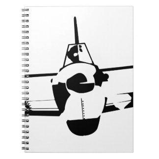 Aircraft Spiral Note Book