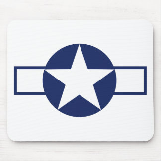 Aircraft Star Pre-1947 Mouse Pad