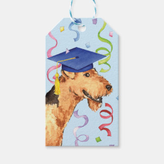 Airedale Graduate Gift Tags