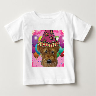 Airedale Party Dog Baby T-Shirt