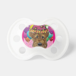 Airedale Party Dog Pacifiers