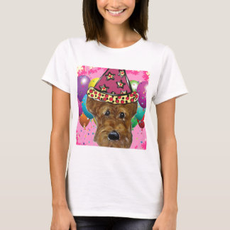 Airedale Party Dog T-Shirt