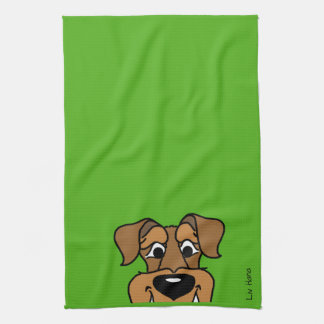 Airedale Smile Kitchen Towel