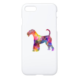 Airedale Terrier 01 in watercolor 2 iPhone 8/7 Case