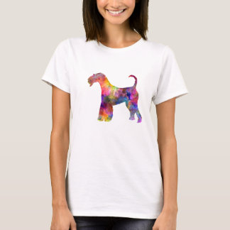 Airedale Terrier 01 in watercolor 2 T-Shirt