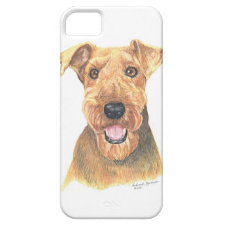 Airedale Terrier Art iPhone 5 Cover