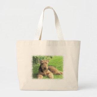 Airedale Terrier Canvas Bag