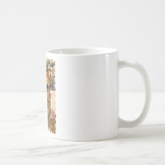 AIREDALE TERRIER CLASSIC WHITE COFFEE MUG