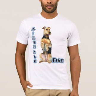 Airedale Terrier Dad 4 T-Shirt