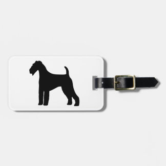 Airedale Terrier Dog Luggage Tag